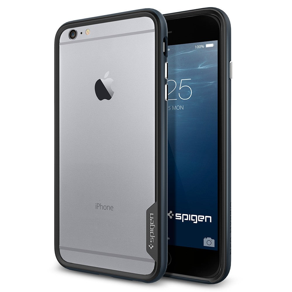 Spigen Neo Hybrid EX Series Case for IPhone 6 Plus (5.5 inches) Metal Slate