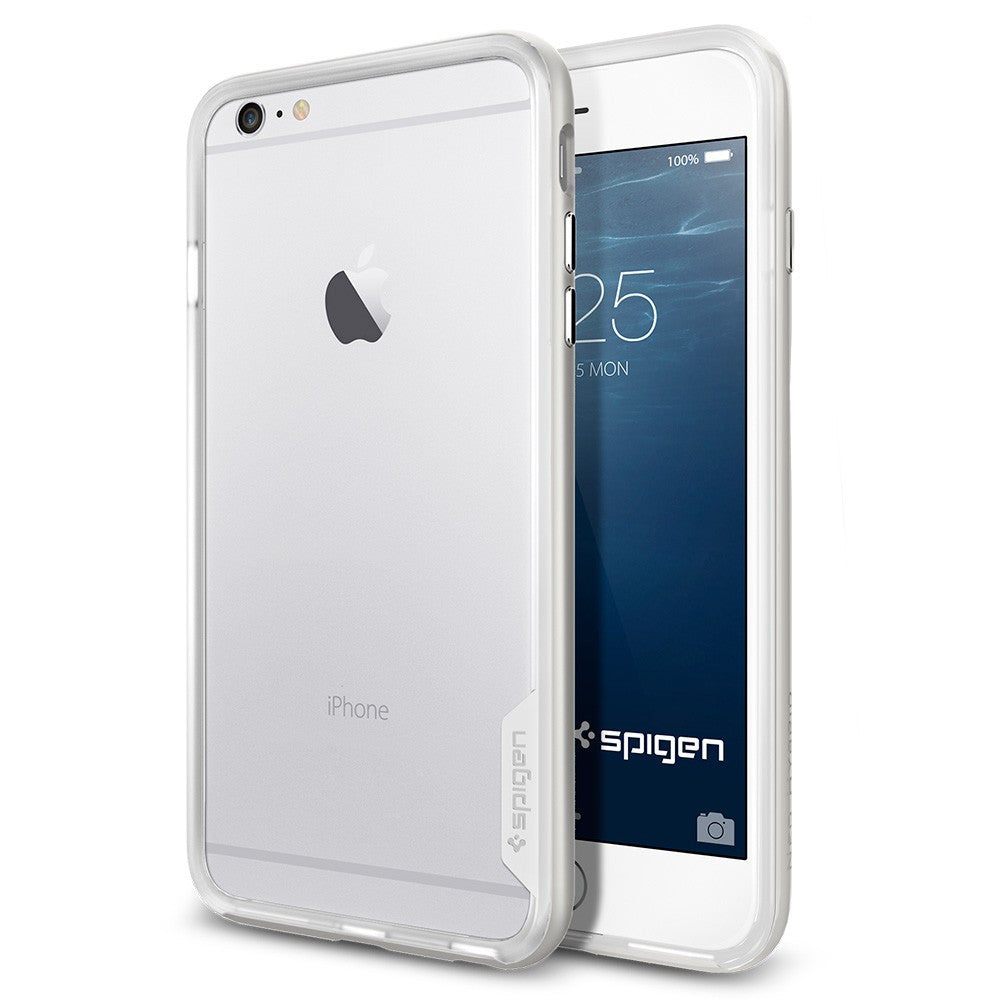 Spigen Neo Hybrid EX Series Case for IPhone 6 Plus (5.5 inches) Satin Silver