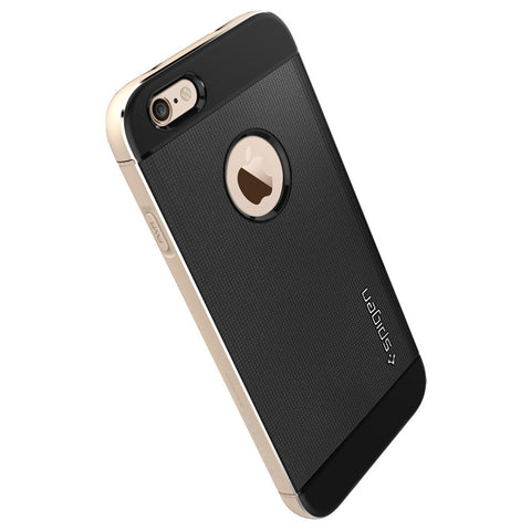Spigen Neo Hybrid Metal Series Case for IPhone 6 Champagne Gold