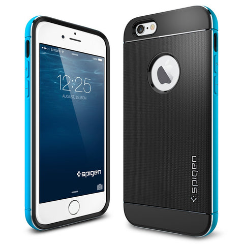 Spigen Neo Hybrid Metal Series Case for IPhone 6 Metal Blue