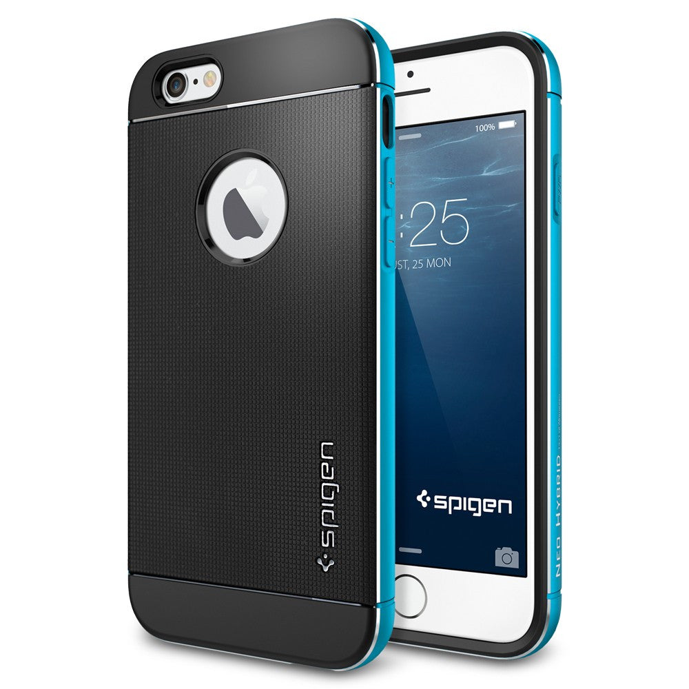 Spigen Neo Hybrid Metal Series Case for IPhone 6 (4.7 inches) Metal Blue