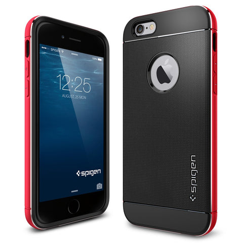 Spigen Neo Hybrid Metal Series Case for IPhone 6 Metal Red