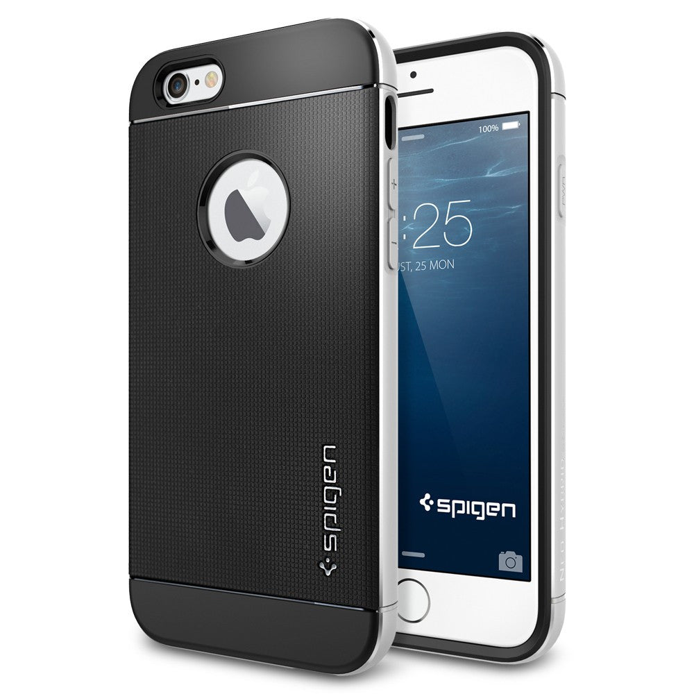 Spigen Neo Hybrid Metal Series Case for IPhone 6 (4.7 inches) Satin Silver