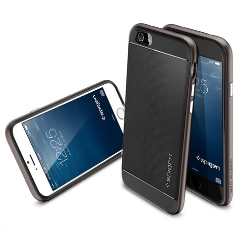 Spigen Neo Hybrid Series Case for IPhone 6 (4.7 inches) Gunmetal