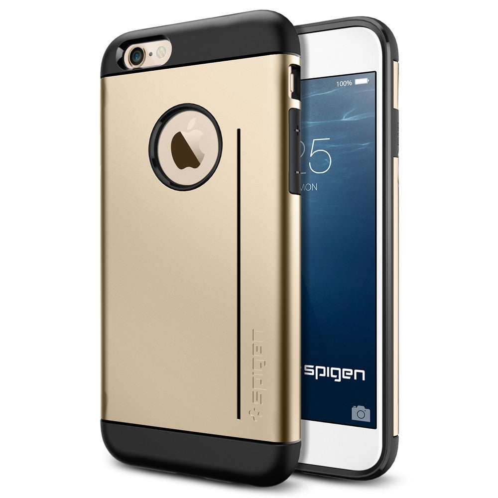 Spigen Slim Armor S Series Case for IPhone 6 (4.7 inches) Champagne Gold
