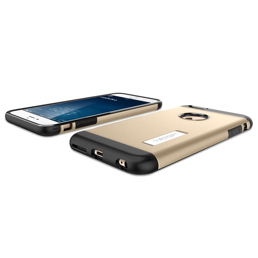 Spigen Slim Armor Series Case for IPhone 6 Plus (5.5 inches) Champagne Gold