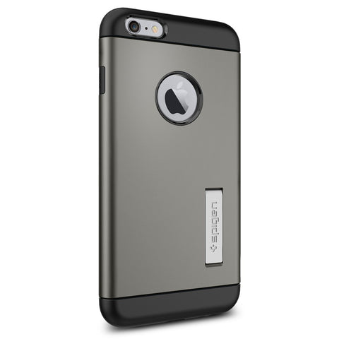Spigen Slim Armor Series Case for IPhone 6 Plus (5.5 inches) Gunmetal