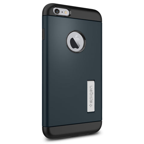 Spigen Slim Armor Series Case for IPhone 6 Plus Metal Slate