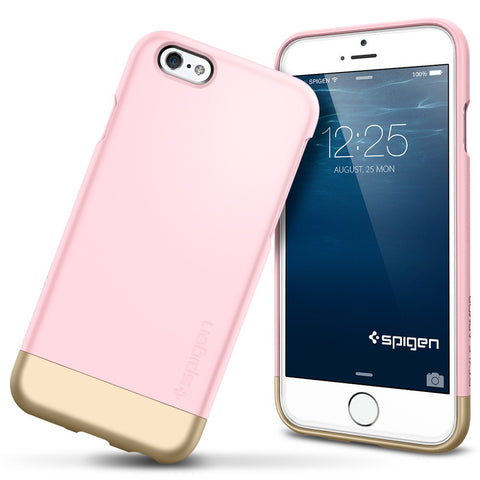 Spigen Style Armor Series Case for IPhone 6 (4.7 inches) Sherbet Pink