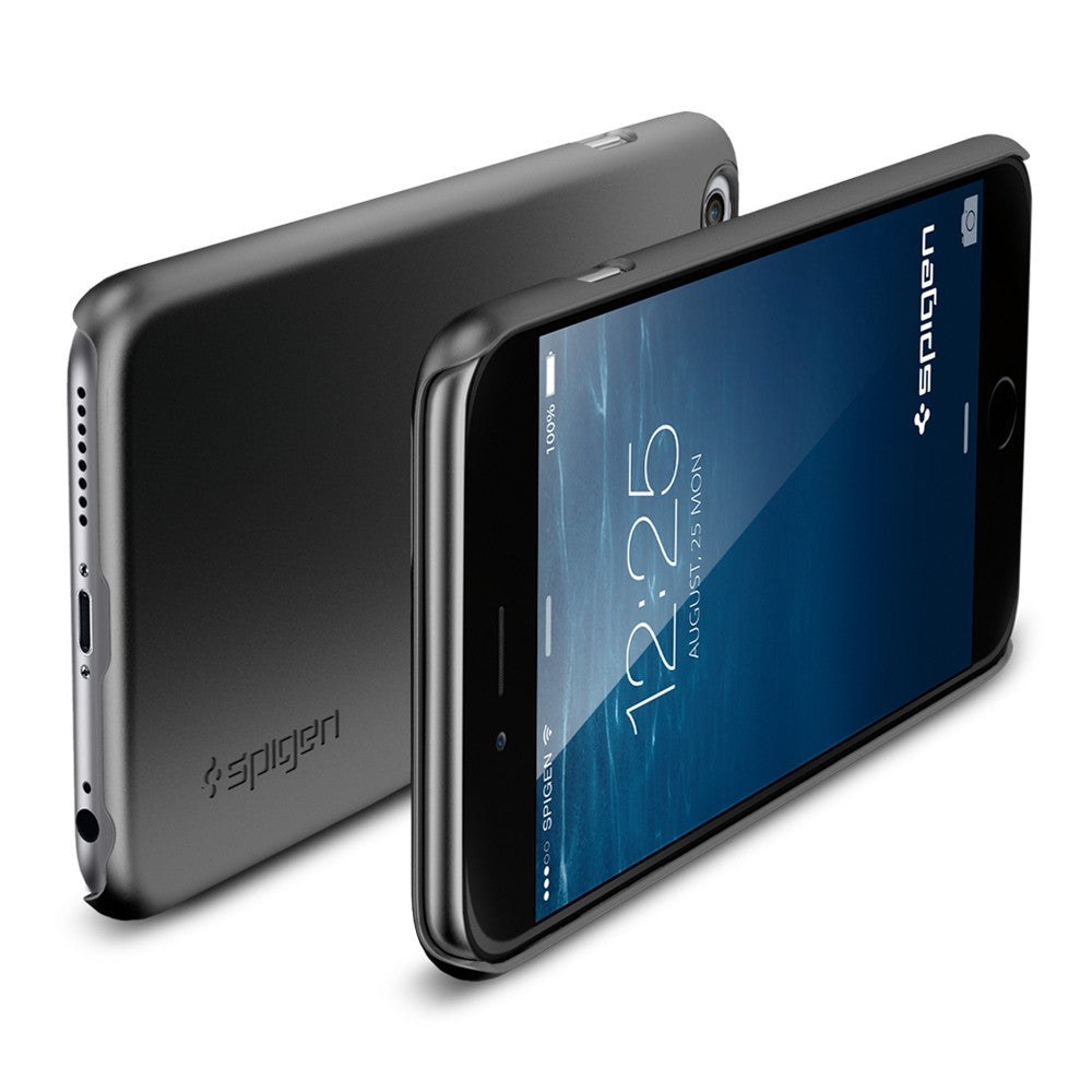 Spigen Thin Fit A Series Case for IPhone 6 Plus (5.5 inches) Gunmetal