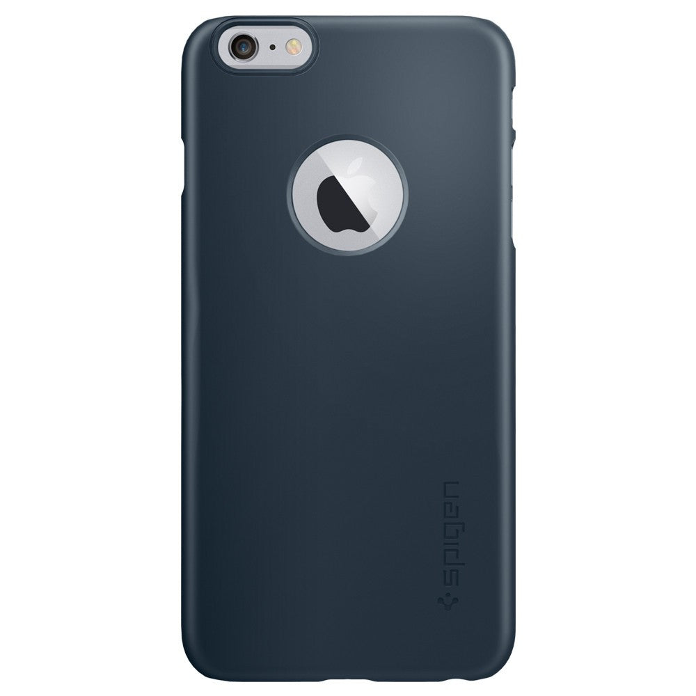 Spigen Thin Fit A Series Case for IPhone 6 Plus (5.5 inches) Metal Slate