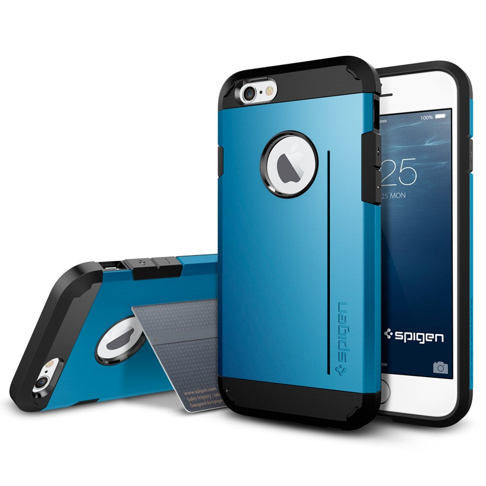 Spigen Tough Armor S Series Case for IPhone 6 (4.7 inches) Electric Blue