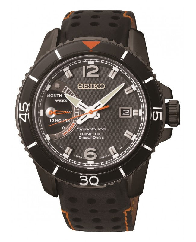 Seiko Sportura Kinetic Direct Drive SRG021 Watch (New with Tags)