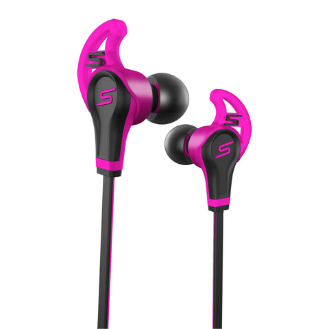 SMS Audio Street By 50 In-Ear Wired Sport Earbud Headset (Pink)