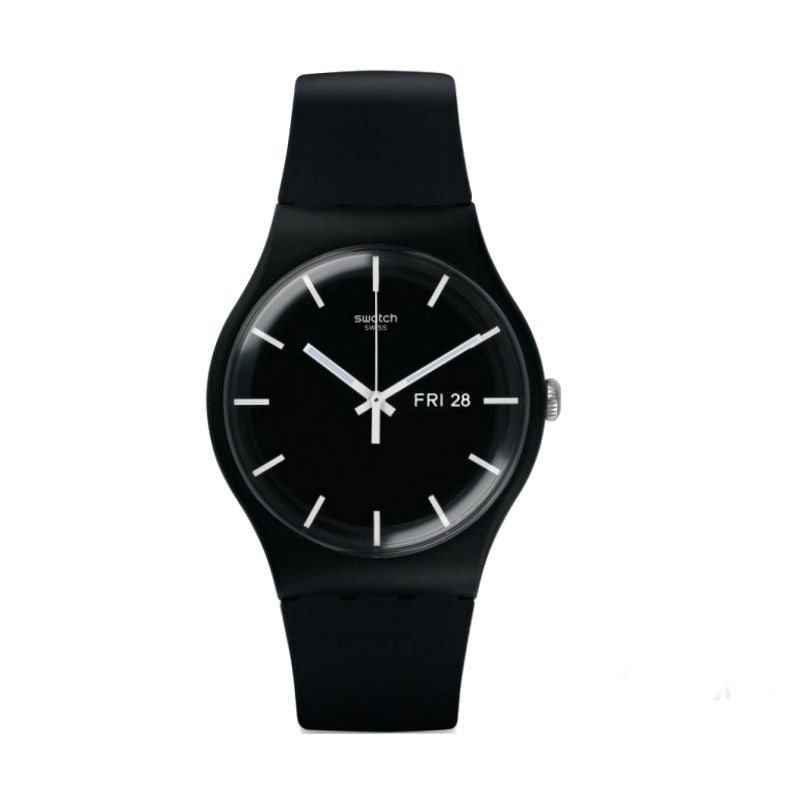 Swatch Mono Black SUOB720 Watch (New With Tags)