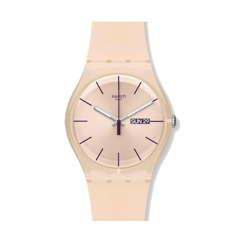 Swatch Rose Rebel SUOT700 Watch (New With Tags)