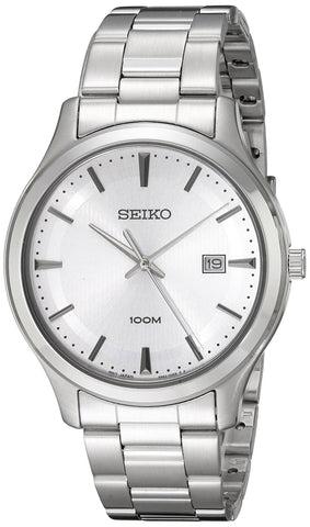 Seiko Classic Quartz SUR047P1 Watch (New With Tags)