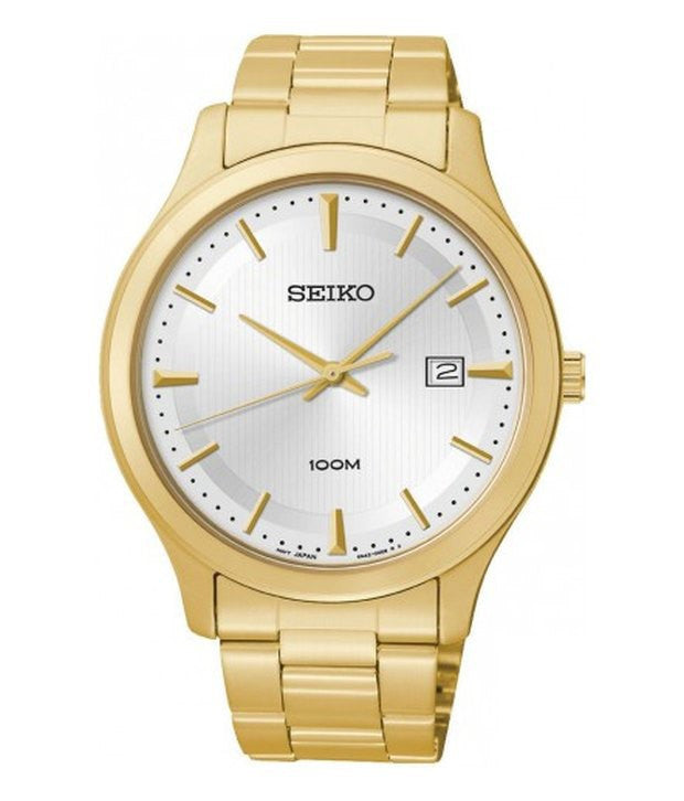 Seiko Classic Quartz SUR054P1 Watch (New With Tags)