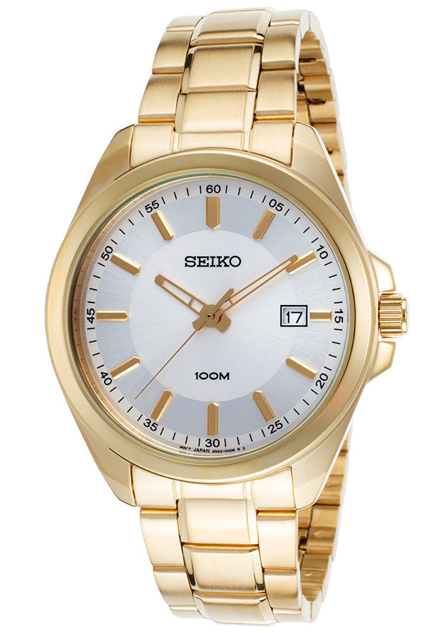 Seiko Classic Quartz SUR064 Watch (New With Tags)