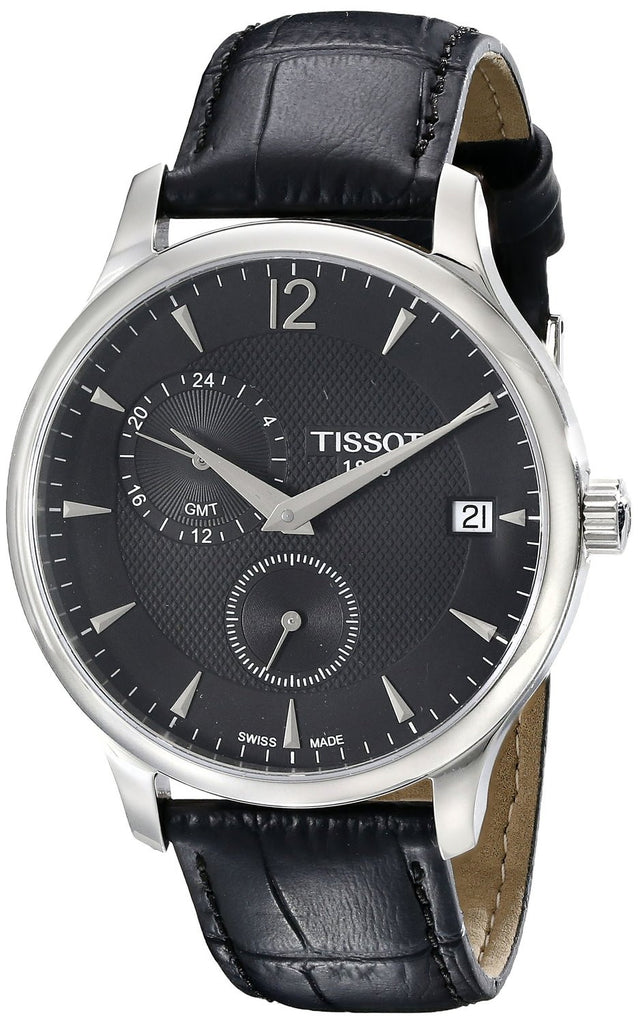 Tissot Tradition GMT Quartz T0636391605700 Watch (New with Tags)
