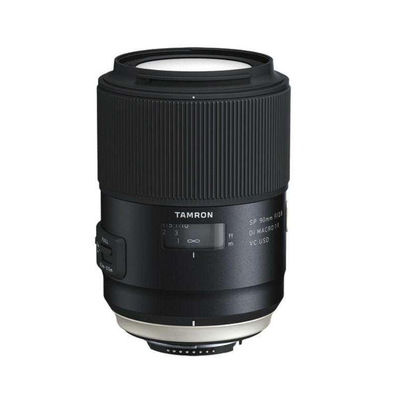Tamron SP 90mm F2.8 Di VC USD (F017E) Black for Canon Lens