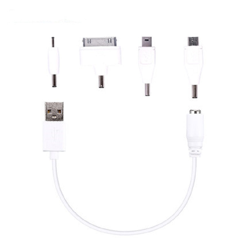 Multifunction USB Charging Cable Extension (White)