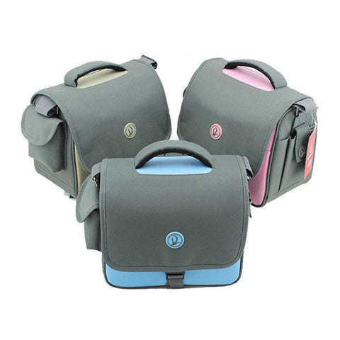 Shockproof and Waterproof Shoulder Bag for DSLR Cameras Pink