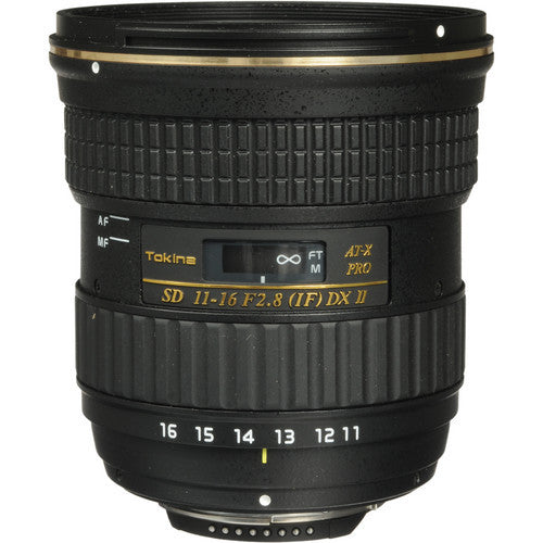 Tokina AT-X 116 PRO DX-II 11-16mm f/2.8 Lens (Sony A)