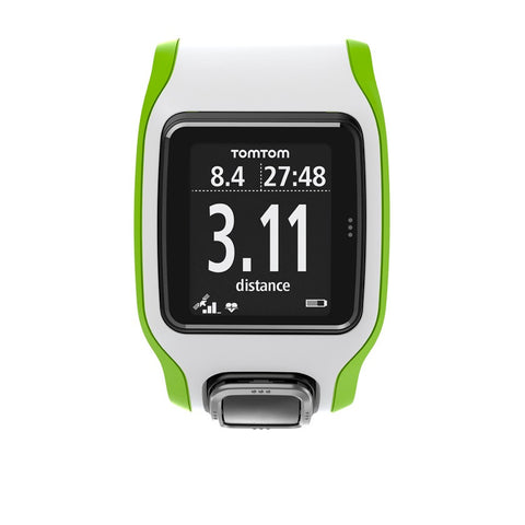 TomTom Multi-Sport Cardio GPS Watch (Green/White)