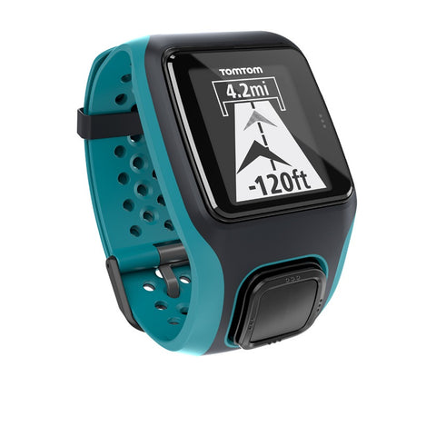 TomTom Multi-Sport GPS Watch with Heart Rate Monitor (Turquoise)