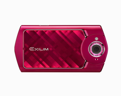 Casio EXILIM EX-TR50 Red Digital Cameras