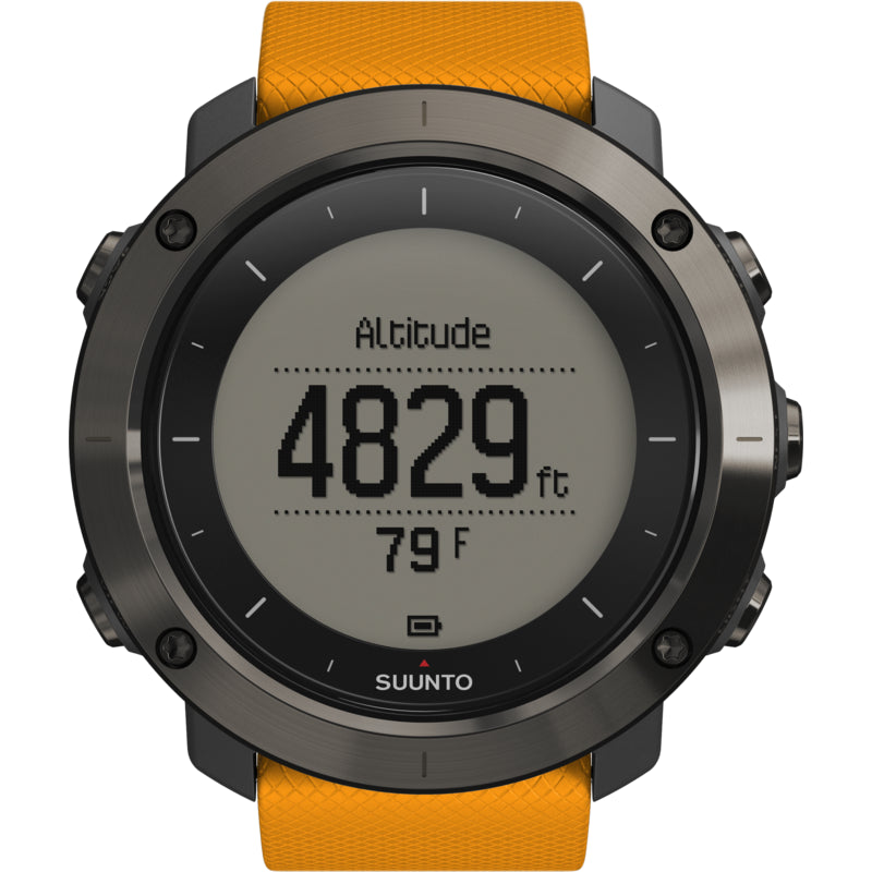 Suunto Traverse SS021844000 GPS Watch (Amber)
