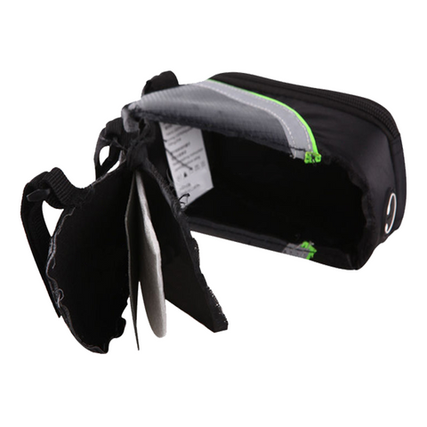 Outdoor 5.5 inches Bicycle Large Phone Bag Green