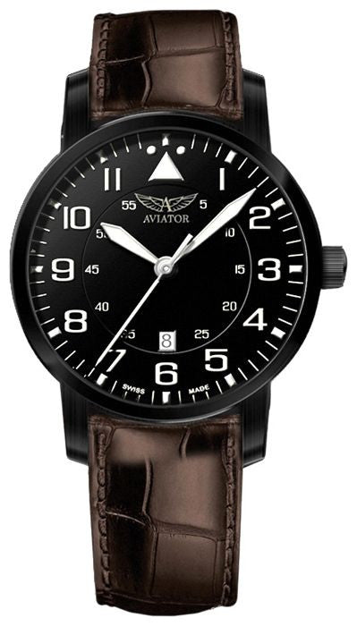 Aviator Swiss Quartz V11150364 Watch (New with Tags)