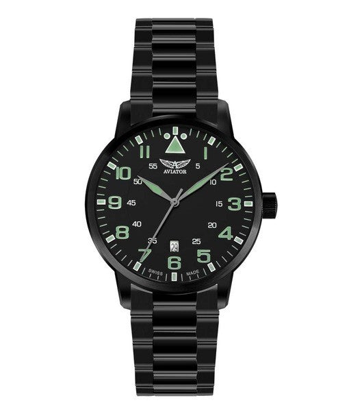 Aviator Swiss Quartz V11150385 Watch (New with Tags)