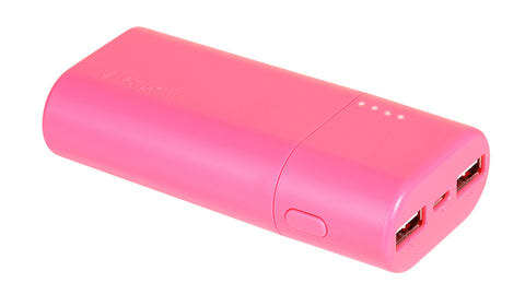 Verbatim 5200 mAh Power Pack (Pink)