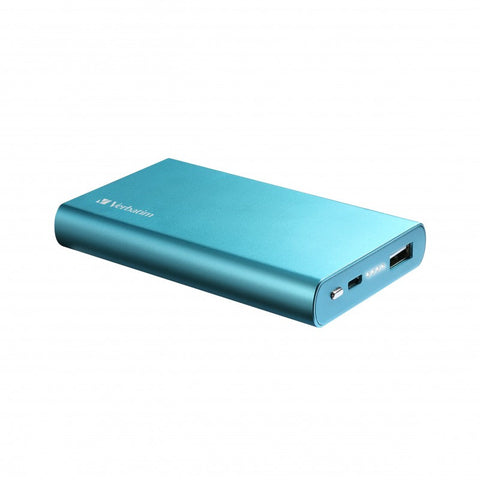 Verbatim 6000 mAh Li-Polymer Power Pack (Blue)
