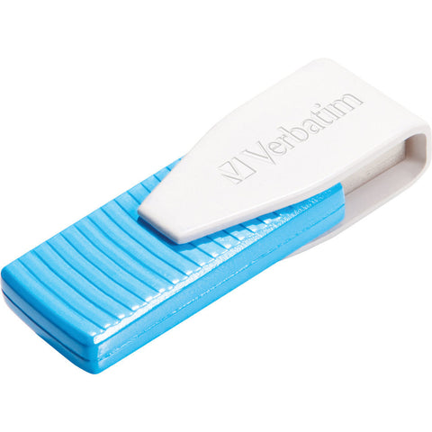 Verbatim Store´n´Go Swivel 8GB USB Flash Drive (Blue)