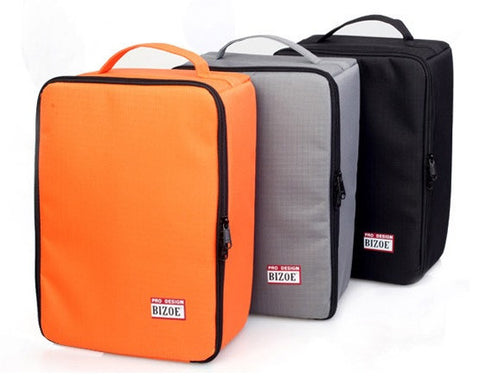 Camera Bag Vertical Section Large for Canon 700D 5D3 60D 70D (Orange)