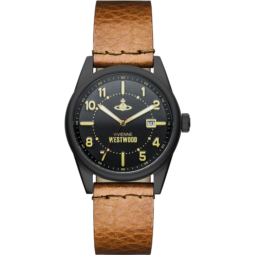 Vivienne Westwood Butlers Wharf VV079BKTN Watch (New with Tags)