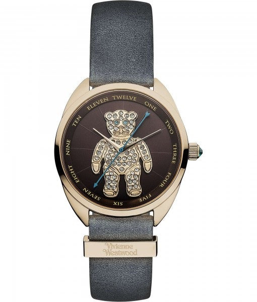 Vivienne Westwood Crazy Bear Quartz VV103BRGY Watch (New with Tags)