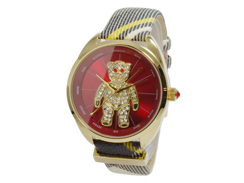 Vivienne Westwood Crazy Bear Quartz VV103RDBR Watch (New with Tags)