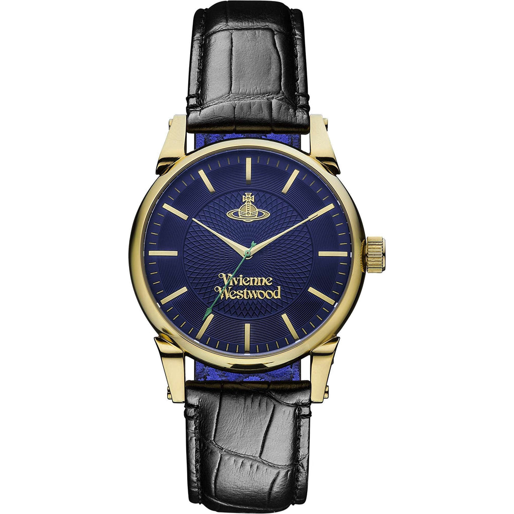 Vivienne Westwood Finsbury VV065NVBK Watch (New with Tags)