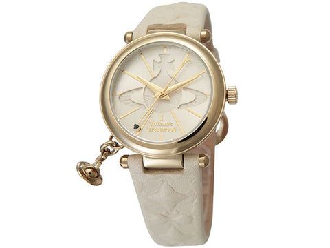 Vivienne Westwood Orb VV006WHWH Watch (New with Tags)