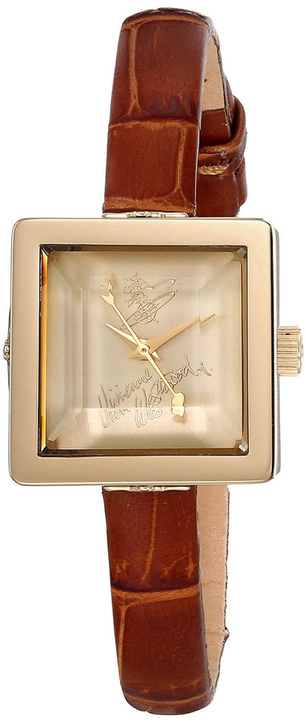 Vivienne Westwood Baby Cube VV094GDBR Watch (New with Tags)