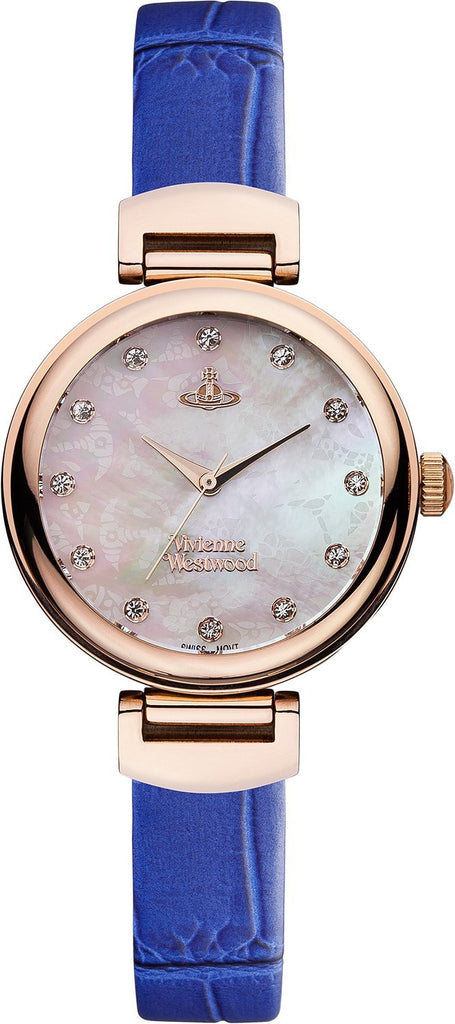 Vivienne Westwood Hampton VV128RSBL Watch (New with Tags)