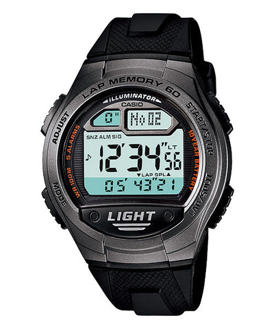 Casio Standard 10-Year Battery Digital W-734-1AVDF Watch (New with Tags)