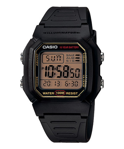 Casio Standard 10-Year Battery Digital W-800HG-9AVDF Watch (New with Tags)