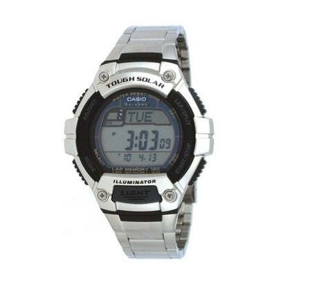 Casio Standard Solar Powered Digital W-S220D-1AV Watch (New with Tags)