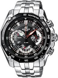 Casio Edifice Chronograph EF-550D-1A Watch (New With Tags)